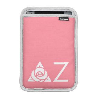 Delta Zeta Rose Icon White iPad Mini Sleeve