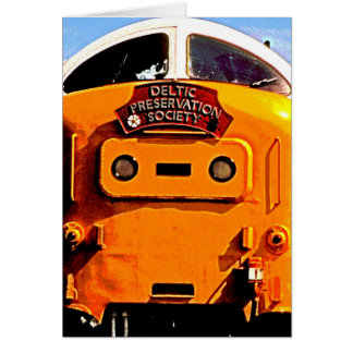 Deltic British Diesel Train (2) Card
