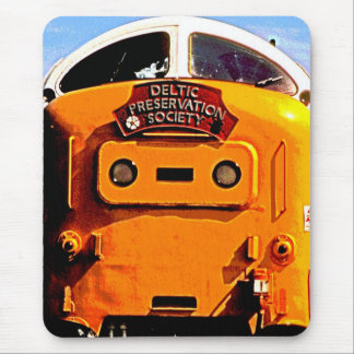 Deltic British Diesel Train (2) Mouse Pad