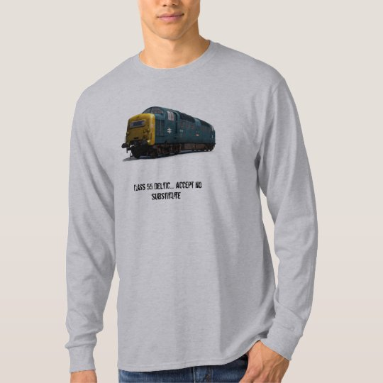 Deltic Long-sleeve t-shirt 'no substitute'