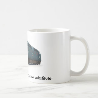 Deltic Mug 'accept no substitute'