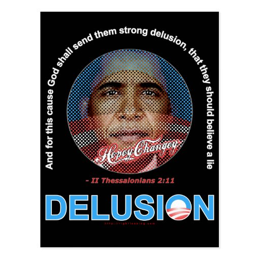 DELUSION POST CARDS
