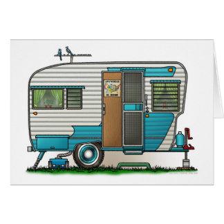 Deluxe Camper Trailer Card