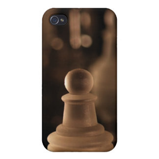 Deluxe Crystal Chess Pawn(assorted colors) iPhone 4/4S Cases