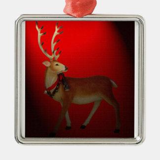 Deluxe Santa's Reindeer Christmas Ornament