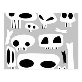 Dem Bones Postcard