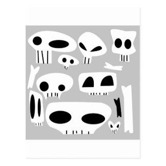 Dem Bones Postcards