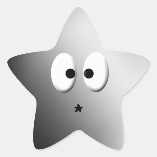 Dem Eyes! - Chrome Star Sticker