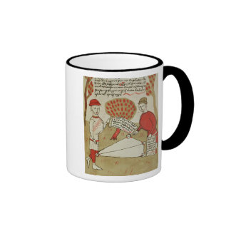 Demarcation of land from Traite d Arpentage Coffee Mug