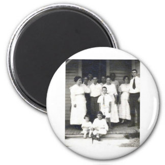 DeMaree Clan Photos 6 Cm Round Magnet