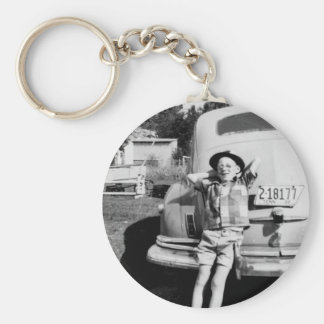 DeMaree Clan Photos Basic Round Button Key Ring