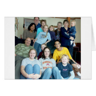 DeMaree Clan Photos Greeting Card