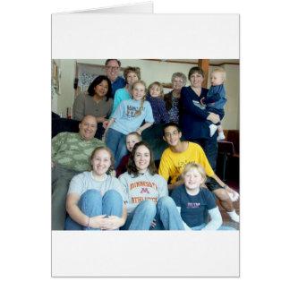 DeMaree Clan Photos Greeting Card