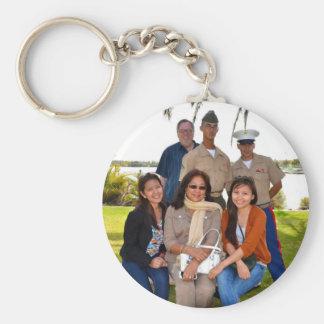 DeMaree Clan Photos Keychain