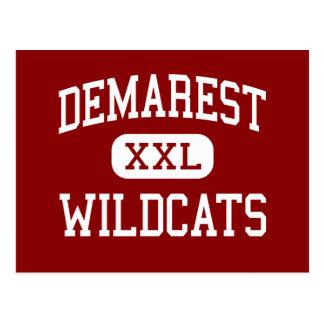 Demarest - Wildcats - Middle - Demarest New Jersey Postcard