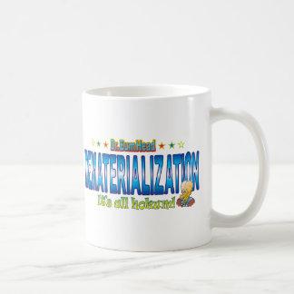 Dematerialization Dr. B Head Basic White Mug