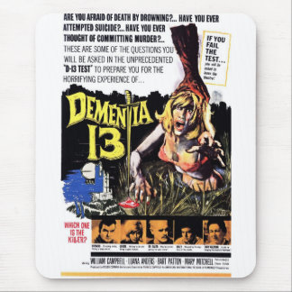 Dementia 13 mouse pad