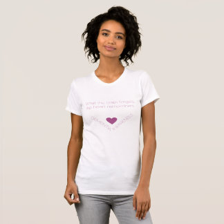 Dementia Awareness. The heart remembers. T-Shirt