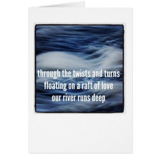 Dementia Journey Card: Raft Of Love