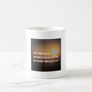 Dementia Journeys Mugs - Early Mourning Son