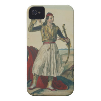 Demetrius Mavromichalis, a Greek soldier and patri iPhone 4 Case-Mate Case