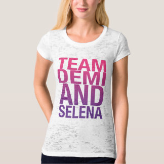 DEMI AND SELENA TEE.ai T-Shirt