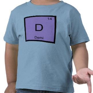 Demi Name Chemistry Element Periodic Table Tshirts