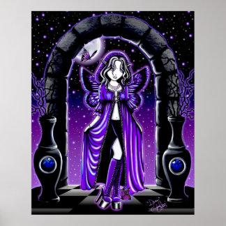 Demi Twilight Moon Butterfly Fairy Poster