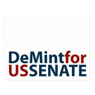 DeMint for US Senate Postcard