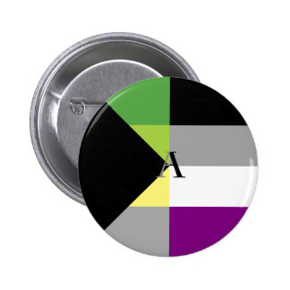 Demiromantic Asexual Demi Ace Pin