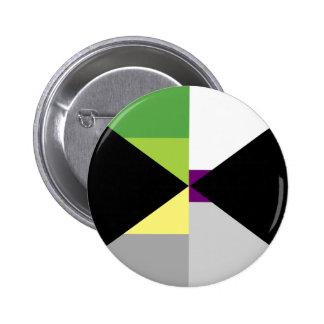 Demiromantic Demisexual Pin