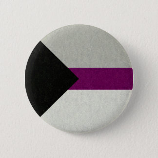 Demisexual Flag 6 Cm Round Badge