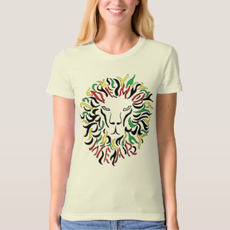 Demo Wear: Rasta Lion- (ladies organic) T-Shirt