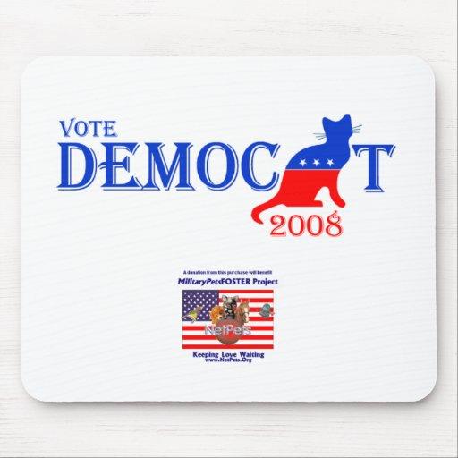 Democat Mousepad