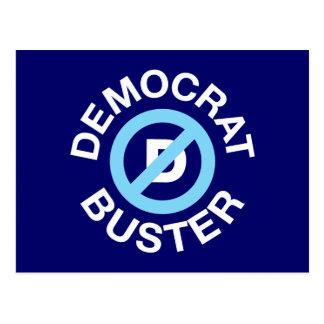 Democrat Buster Postcard
