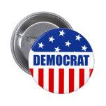 Democrat Button