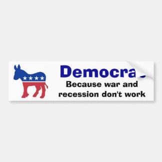 Democrat Car Bumper Sticker