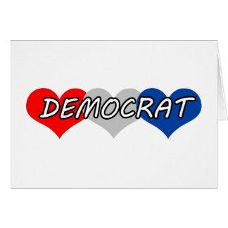 Democrat Greeting Cards