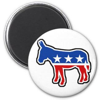 Democrat Donkey 6 Cm Round Magnet