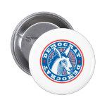 democrat donkey badges