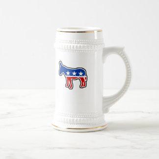Democrat Donkey Beer Steins
