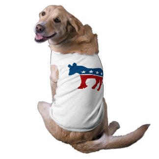 Democrat Donkey Sleeveless Dog Shirt