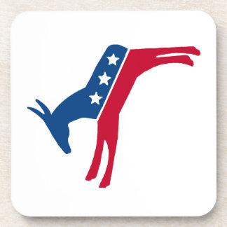 Democrat Donkey Drink Coasters