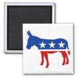 Democrat Donkey Fridge Magnets