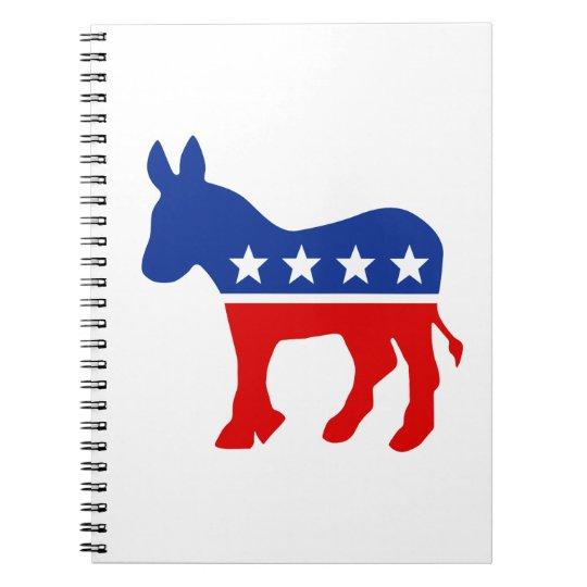 Democrat Donkey Notebook