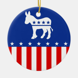 Democrat Donkey Ornament
