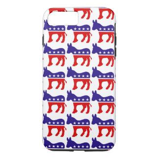 Democrat Donkey Pattern iPhone 7 Plus Case
