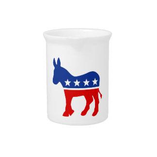 Democrat Donkey Pitcher