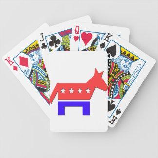 Democrat Donkey.png Bicycle Playing Cards