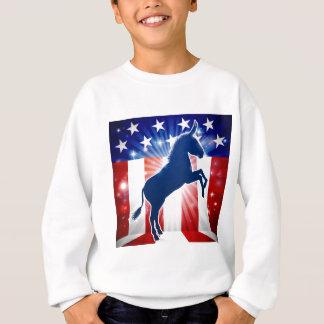 Democrat Donkey Political Mascot Sweatshirt